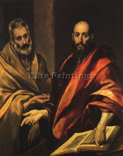 EL GRECO GRECO16 ARTIST PAINTING REPRODUCTION HANDMADE OIL CANVAS REPRO WALL ART