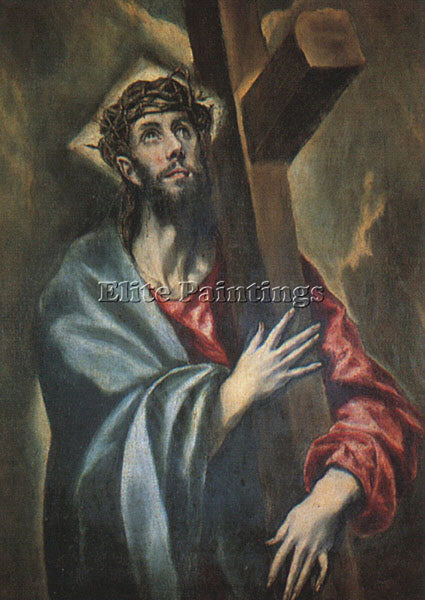 EL GRECO GRECO17 ARTIST PAINTING REPRODUCTION HANDMADE OIL CANVAS REPRO WALL ART