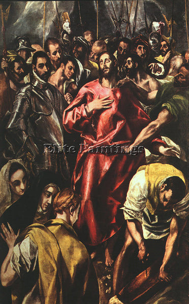 EL GRECO GRECO18 ARTIST PAINTING REPRODUCTION HANDMADE OIL CANVAS REPRO WALL ART