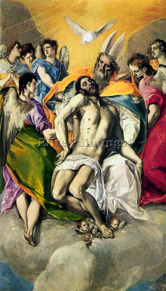 EL GRECO GRECO19 ARTIST PAINTING REPRODUCTION HANDMADE OIL CANVAS REPRO WALL ART