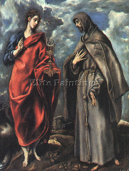 EL GRECO GRECO20 ARTIST PAINTING REPRODUCTION HANDMADE OIL CANVAS REPRO WALL ART