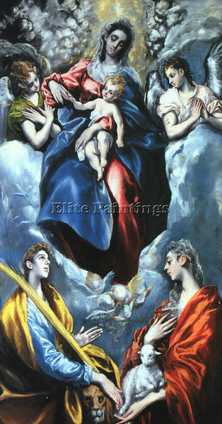 EL GRECO GRECO23 ARTIST PAINTING REPRODUCTION HANDMADE OIL CANVAS REPRO WALL ART