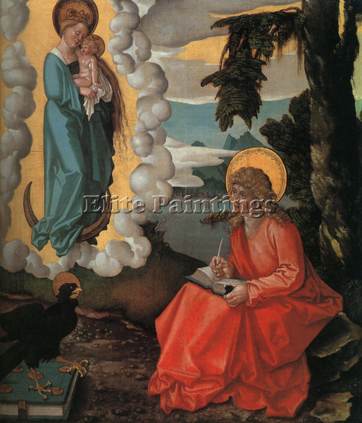 HANS BALDUNG GRIEN GRIE19 ARTIST PAINTING REPRODUCTION HANDMADE OIL CANVAS REPRO