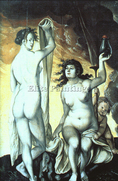 HANS BALDUNG GRIEN GRIE26 ARTIST PAINTING REPRODUCTION HANDMADE OIL CANVAS REPRO