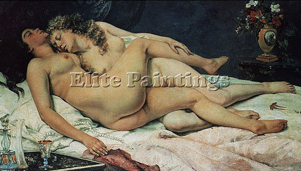GUSTAVE COURBET GUSTAVE COURBET ARTIST PAINTING REPRODUCTION HANDMADE OIL CANVAS