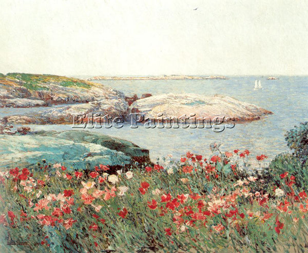 CHILDE HASSAM HASS18 ARTIST PAINTING REPRODUCTION HANDMADE OIL CANVAS REPRO WALL