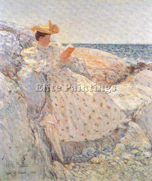 CHILDE HASSAM HASS19 ARTIST PAINTING REPRODUCTION HANDMADE OIL CANVAS REPRO WALL