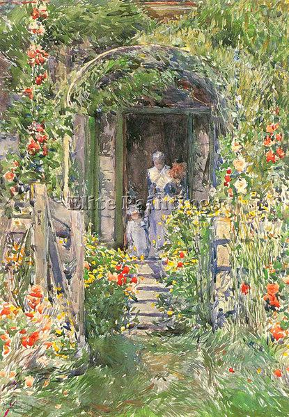 CHILDE HASSAM HASS23 ARTIST PAINTING REPRODUCTION HANDMADE OIL CANVAS REPRO WALL
