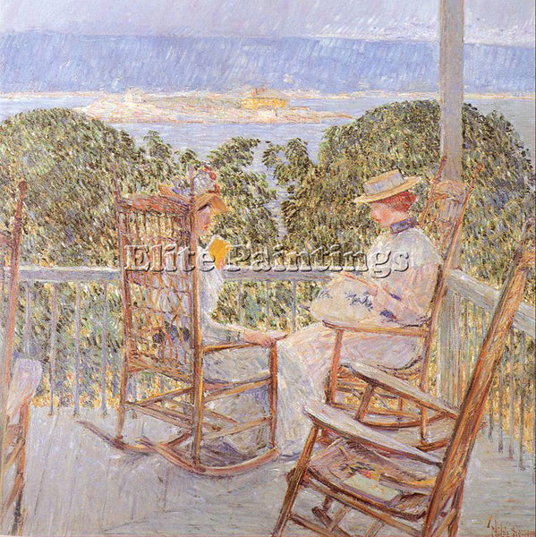 CHILDE HASSAM HASS26 ARTIST PAINTING REPRODUCTION HANDMADE OIL CANVAS REPRO WALL