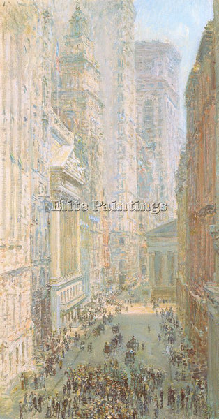 CHILDE HASSAM HASS33 ARTIST PAINTING REPRODUCTION HANDMADE OIL CANVAS REPRO WALL
