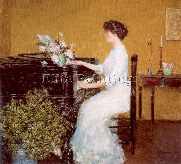 CHILDE HASSAM HASS34 ARTIST PAINTING REPRODUCTION HANDMADE OIL CANVAS REPRO WALL