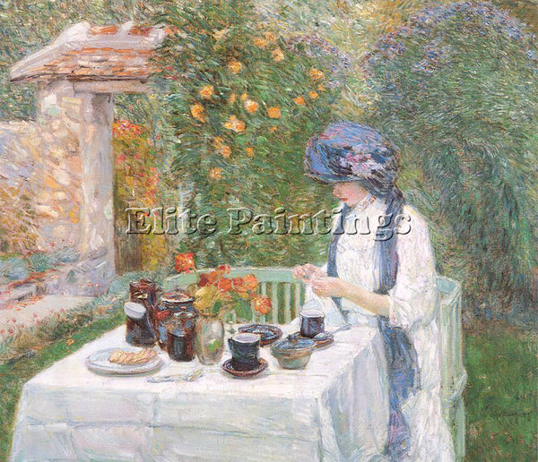 CHILDE HASSAM HASS36 ARTIST PAINTING REPRODUCTION HANDMADE OIL CANVAS REPRO WALL