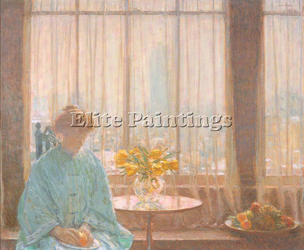 CHILDE HASSAM HASS37 ARTIST PAINTING REPRODUCTION HANDMADE OIL CANVAS REPRO WALL