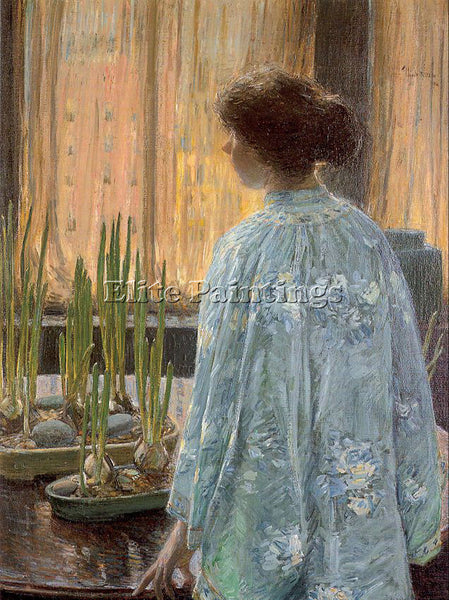 CHILDE HASSAM HASS38 ARTIST PAINTING REPRODUCTION HANDMADE OIL CANVAS REPRO WALL