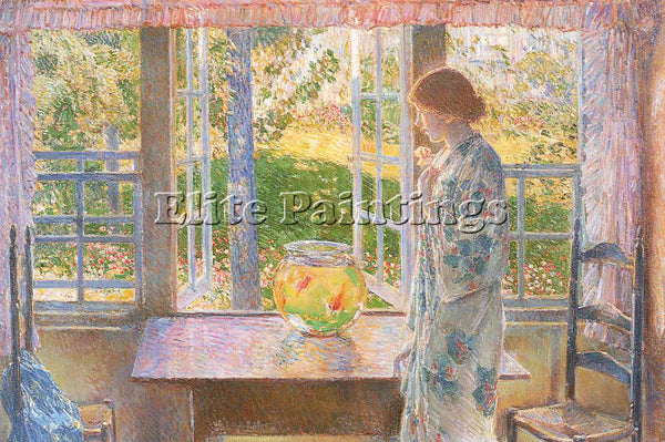 CHILDE HASSAM HASS39 ARTIST PAINTING REPRODUCTION HANDMADE OIL CANVAS REPRO WALL