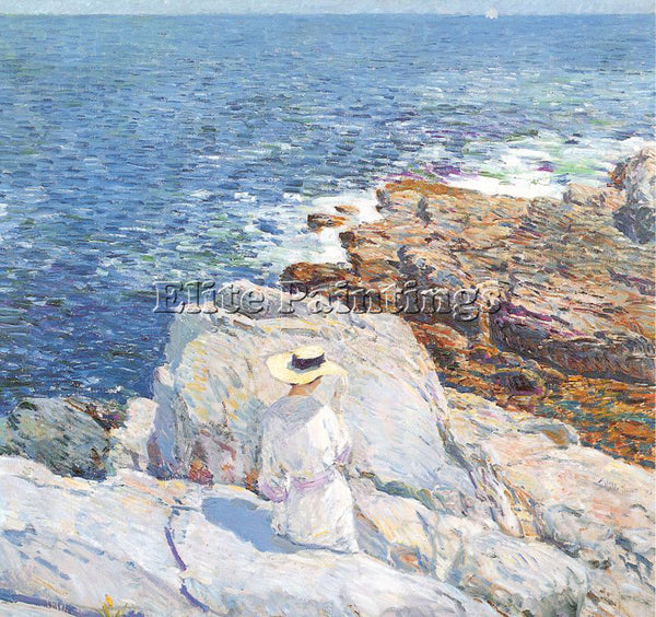 CHILDE HASSAM HASS41 ARTIST PAINTING REPRODUCTION HANDMADE OIL CANVAS REPRO WALL