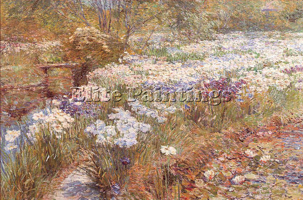 CHILDE HASSAM HASS46 ARTIST PAINTING REPRODUCTION HANDMADE OIL CANVAS REPRO WALL