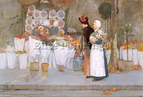 CHILDE HASSAM HASS53 ARTIST PAINTING REPRODUCTION HANDMADE OIL CANVAS REPRO WALL
