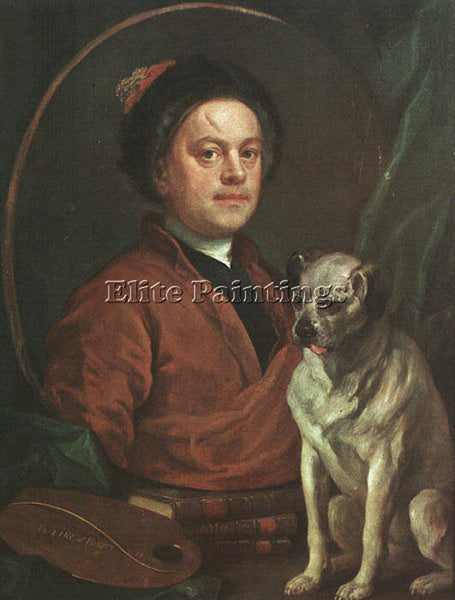 WILLIAM HOGARTH HOGA12 ARTIST PAINTING REPRODUCTION HANDMADE CANVAS REPRO WALL