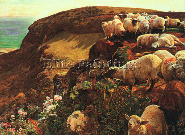 WILLIAM HOLMAN HUNT HUNT5 ARTIST PAINTING REPRODUCTION HANDMADE OIL CANVAS REPRO
