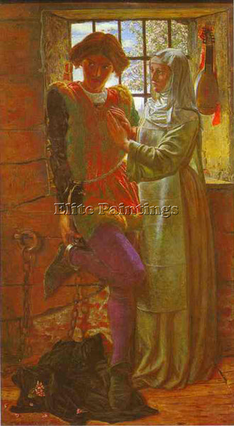 WILLIAM HOLMAN HUNT HUNT15 ARTIST PAINTING REPRODUCTION HANDMADE OIL CANVAS DECO
