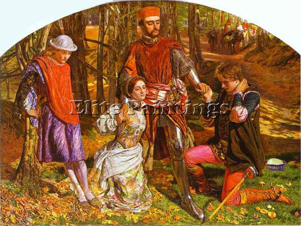 WILLIAM HOLMAN HUNT HUNT16 ARTIST PAINTING REPRODUCTION HANDMADE OIL CANVAS DECO