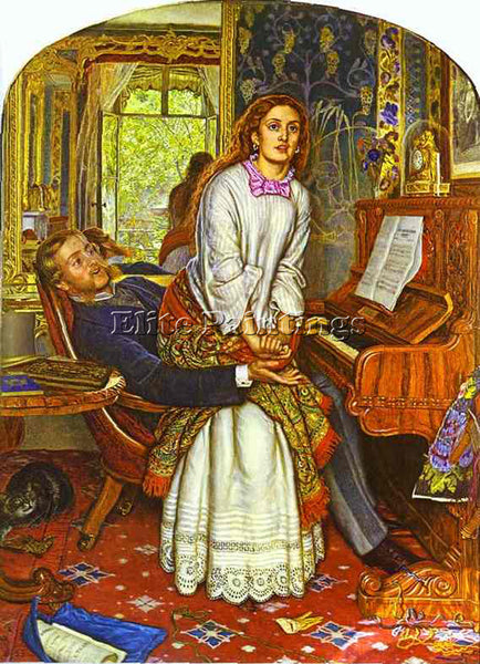 WILLIAM HOLMAN HUNT HUNT18 ARTIST PAINTING REPRODUCTION HANDMADE OIL CANVAS DECO