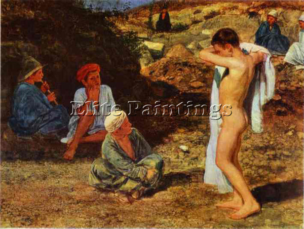 ALEXANDER IVANOV IVAN5 ARTIST PAINTING REPRODUCTION HANDMADE CANVAS REPRO WALL