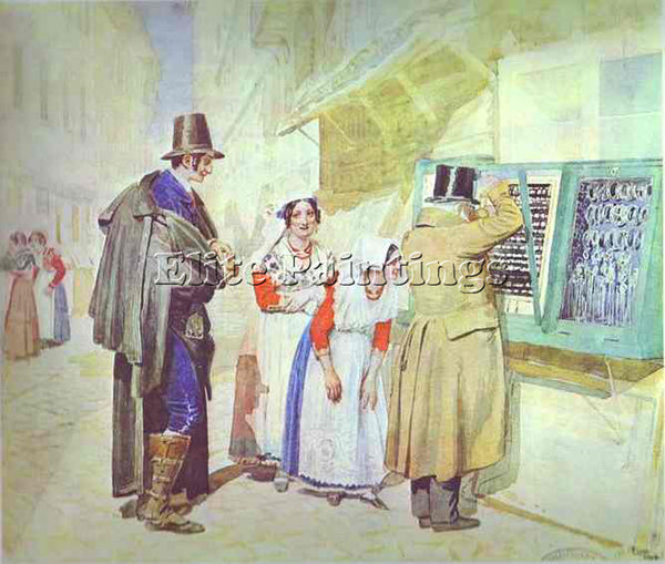 ALEXANDER IVANOV IVAN9 ARTIST PAINTING REPRODUCTION HANDMADE CANVAS REPRO WALL