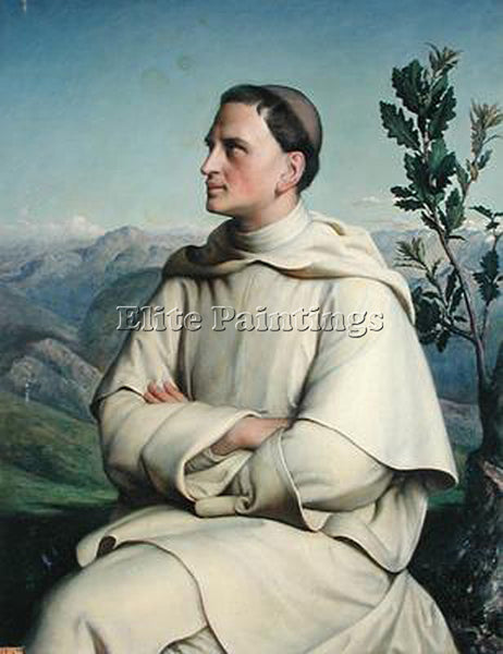 LOUIS JANMOT HENRI LACORDAIRE AT SORREZE ARTIST PAINTING REPRODUCTION HANDMADE