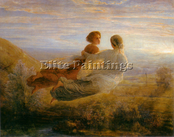 LOUIS JANMOT LE POEME DE L AME 16 LE VOL DE L AME ARTIST PAINTING REPRODUCTION