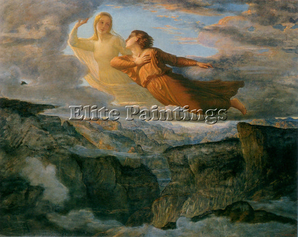 LOUIS JANMOT LE POEME DE L AME 17 L IDEAL ARTIST PAINTING REPRODUCTION HANDMADE