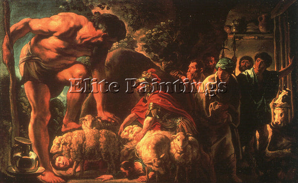 JACOB JORDAENS JORDA2 ARTIST PAINTING REPRODUCTION HANDMADE OIL CANVAS REPRO ART