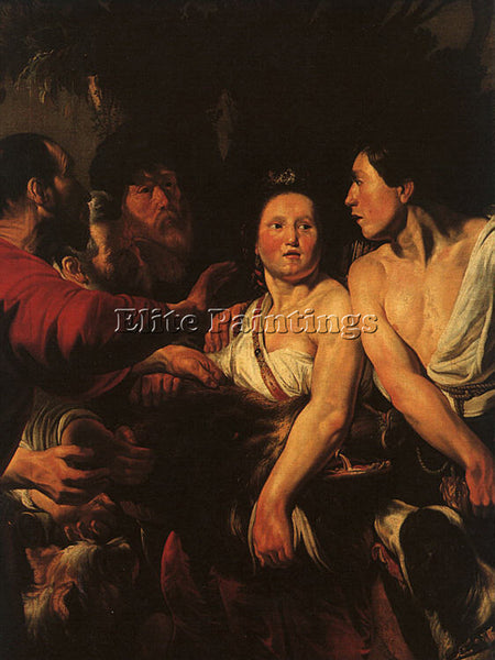 JACOB JORDAENS JORDA3 ARTIST PAINTING REPRODUCTION HANDMADE OIL CANVAS REPRO ART