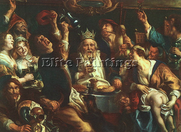 JACOB JORDAENS JORDA5 ARTIST PAINTING REPRODUCTION HANDMADE OIL CANVAS REPRO ART