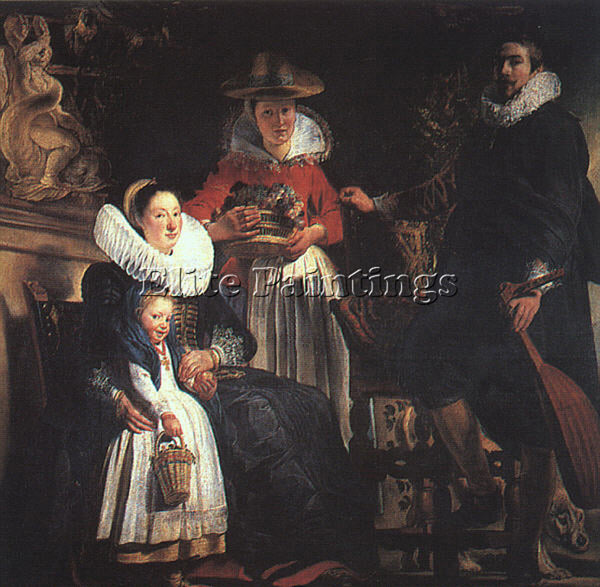 JACOB JORDAENS JORDA7 ARTIST PAINTING REPRODUCTION HANDMADE OIL CANVAS REPRO ART