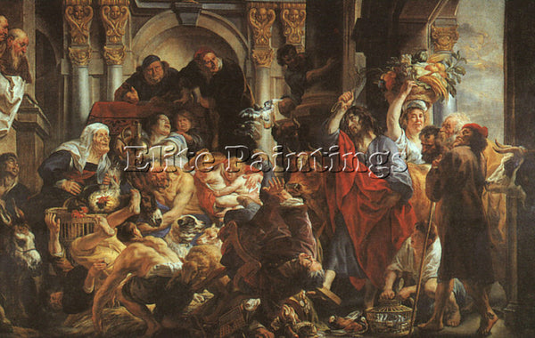 JACOB JORDAENS JORDA9 ARTIST PAINTING REPRODUCTION HANDMADE OIL CANVAS REPRO ART