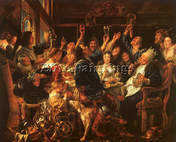 JACOB JORDAENS JORDA11 ARTIST PAINTING REPRODUCTION HANDMADE CANVAS REPRO WALL