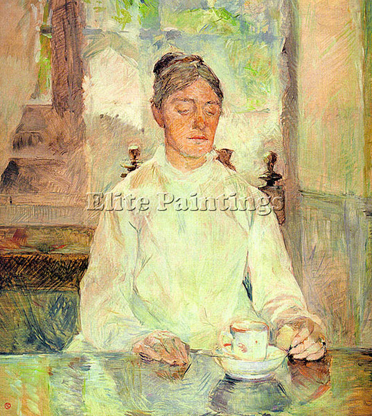 HENRI DE TOULOUSE-LAUTREC TLAU1 ARTIST PAINTING REPRODUCTION HANDMADE OIL CANVAS