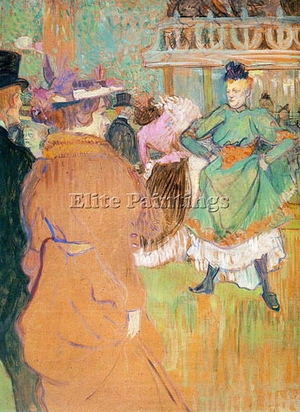 HENRI DE TOULOUSE-LAUTREC TLAU2 ARTIST PAINTING REPRODUCTION HANDMADE OIL CANVAS