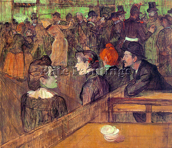 HENRI DE TOULOUSE-LAUTREC TLAU3 ARTIST PAINTING REPRODUCTION HANDMADE OIL CANVAS
