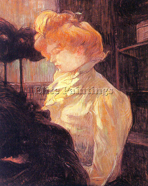 HENRI DE TOULOUSE-LAUTREC TLAU4 ARTIST PAINTING REPRODUCTION HANDMADE OIL CANVAS