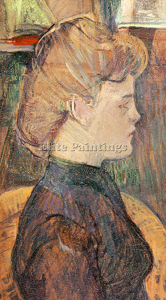 HENRI DE TOULOUSE-LAUTREC TLAU6 ARTIST PAINTING REPRODUCTION HANDMADE OIL CANVAS