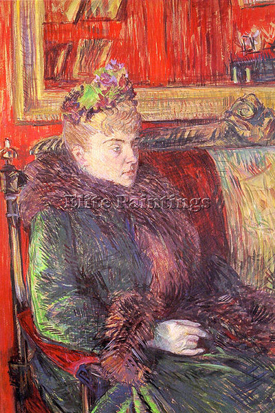 HENRI DE TOULOUSE-LAUTREC TLAU9 ARTIST PAINTING REPRODUCTION HANDMADE OIL CANVAS