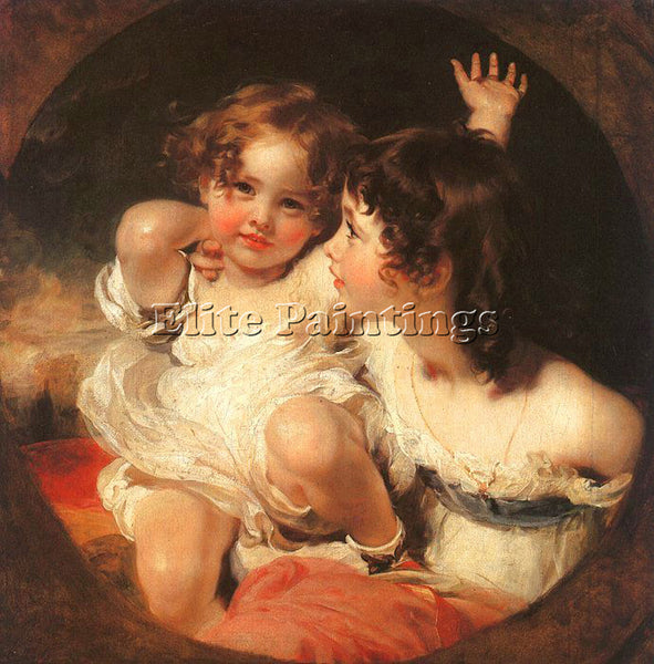 THOMAS LAWRENCE LAWR3 ARTIST PAINTING REPRODUCTION HANDMADE OIL CANVAS REPRO ART