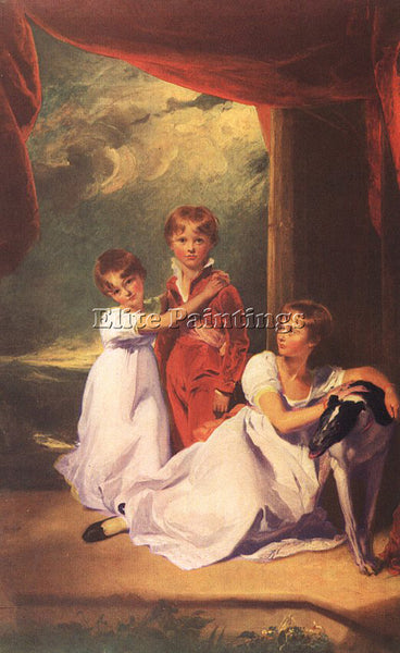 THOMAS LAWRENCE LAWR4 ARTIST PAINTING REPRODUCTION HANDMADE OIL CANVAS REPRO ART