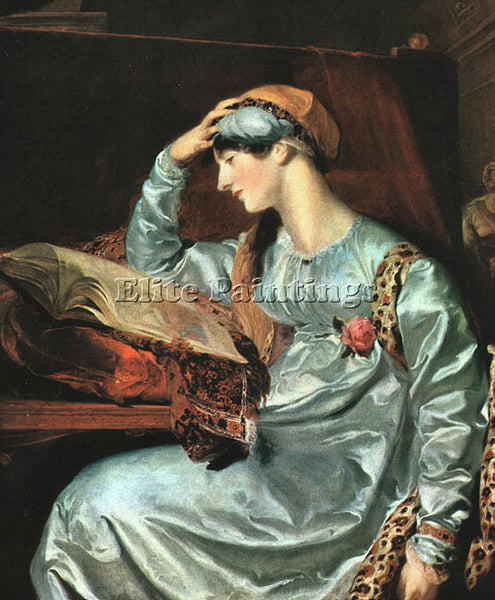 THOMAS LAWRENCE LAWR6 ARTIST PAINTING REPRODUCTION HANDMADE OIL CANVAS REPRO ART