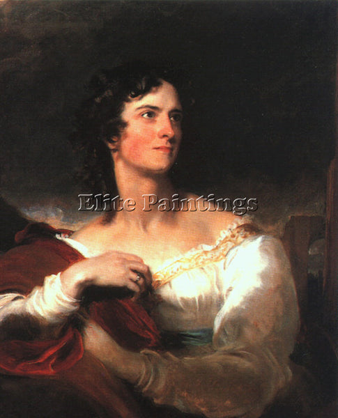 THOMAS LAWRENCE LAWR10 ARTIST PAINTING REPRODUCTION HANDMADE CANVAS REPRO WALL