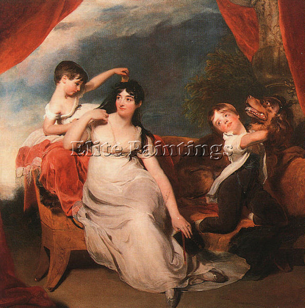 THOMAS LAWRENCE LAWR13 ARTIST PAINTING REPRODUCTION HANDMADE CANVAS REPRO WALL