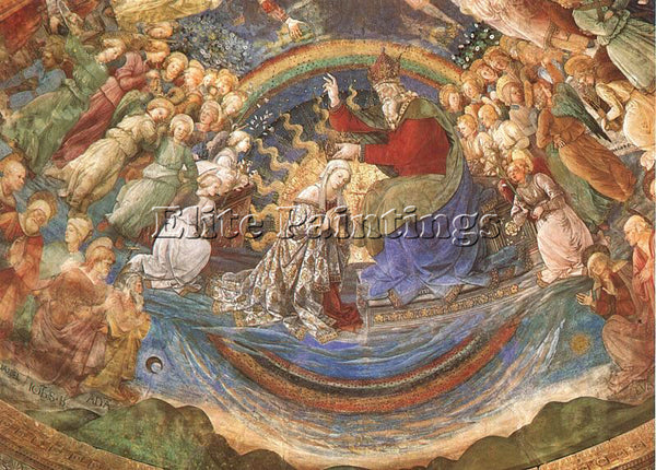 FRA FILIPPO LIPPI LIP16 ARTIST PAINTING REPRODUCTION HANDMADE CANVAS REPRO WALL